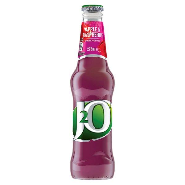 J2O Apple & Raspberry Glass 275ml
