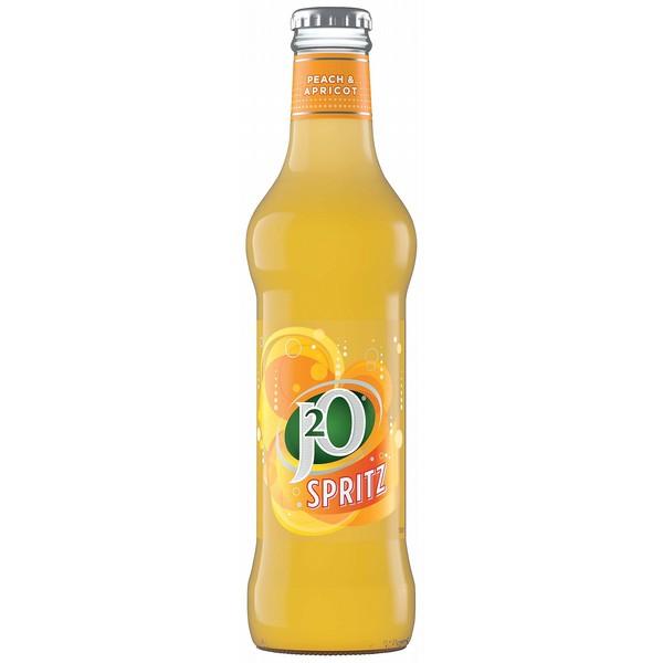 J2O Spritz Peach/Apricot Glass 275ml