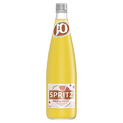 J2O Spritz Peach/Apricot Glass 750ml