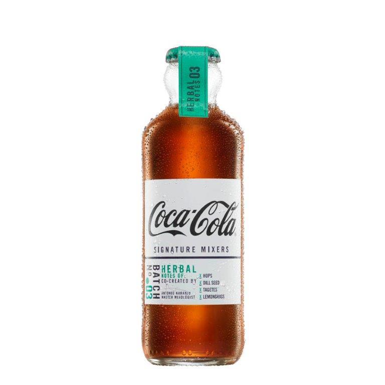 Coca Cola Signature Mixers Herbal Notes Glass 200ml