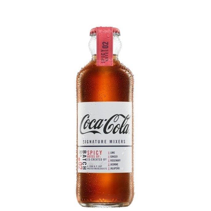 Coca Cola Signature Mixers Spicy Notes Glass 200ml