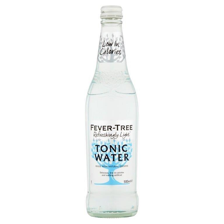 Fever-Tree Refreshingly Light Tonic Water Glass 500ml