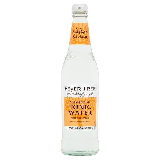 Fever-Tree Refreshingly Light Clementine Tonic Water Glass 500ml