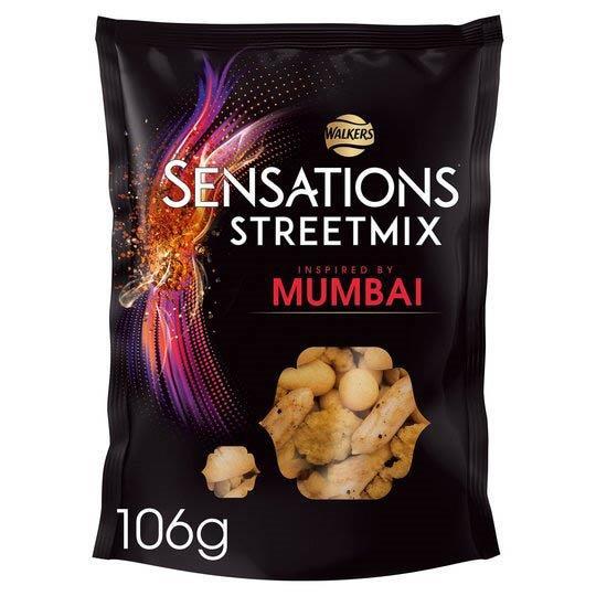 Walkers Sensations Nut Mix Mumbai 106g