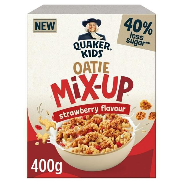 Quaker Kids Mix Up Strawberry 400g