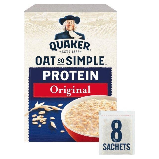 Quaker Oat So Simple Protein Original 8pk (8 x 37.73g)
