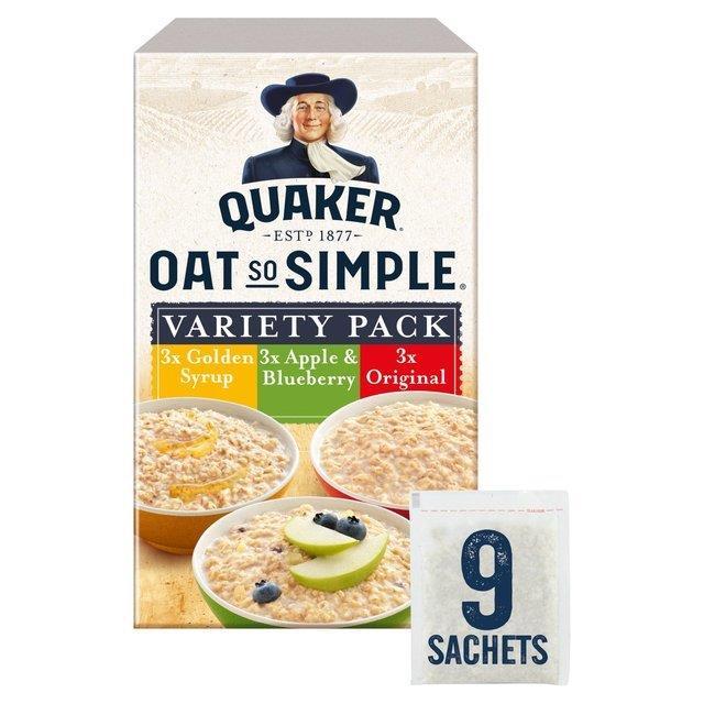Quaker Oat So Simple Variety 9pk (9 x 33g)