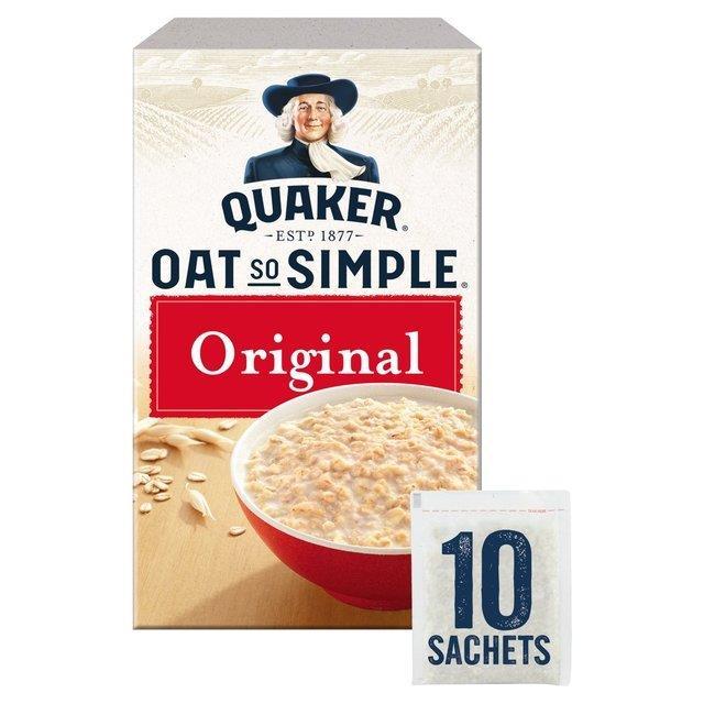 Quaker Oat So Simple Original 10pk (10 x 27g)