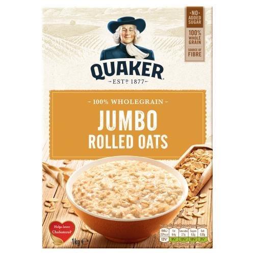 Quaker Jumbo Oats 1kg