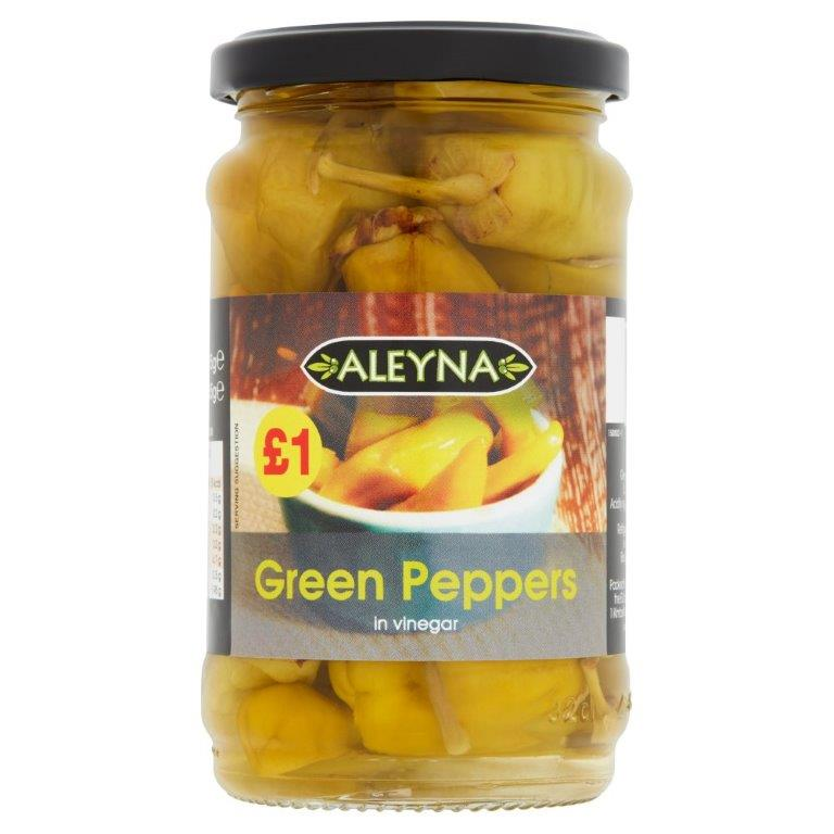 Aleyna Green Peppers 290g PM £1