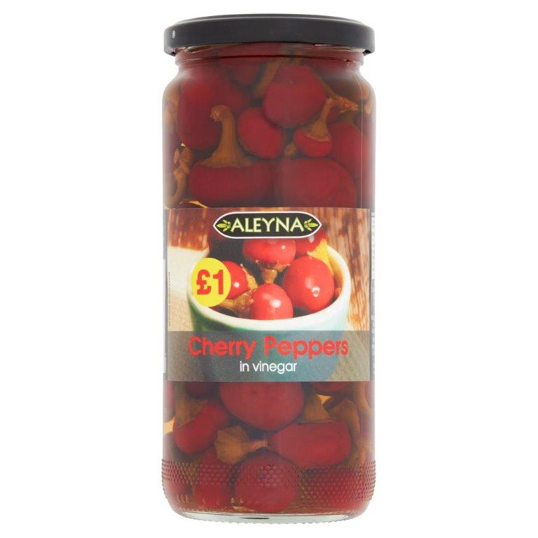 Aleyna Cherry Peppers 460g PM £1