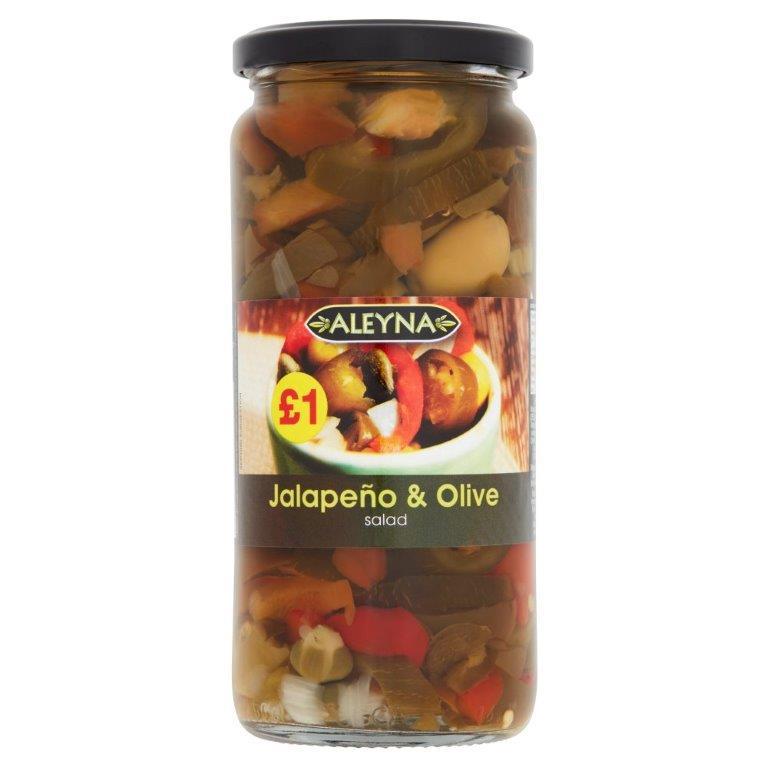 Aleyna Jalapenos Salad 480g PM £1
