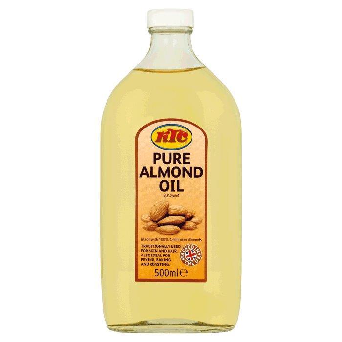 KTC Almond Oil (Glass) 500ml