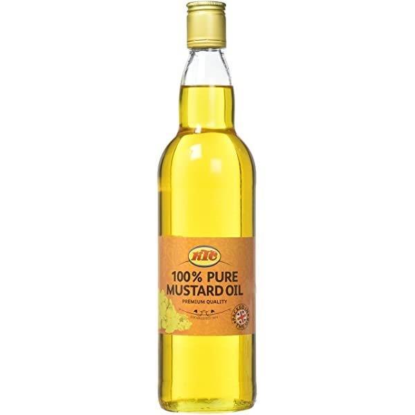 KTC Pure Mustard Oil (Glass) 750ml