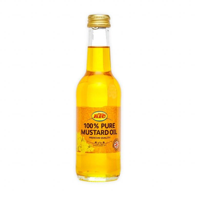 KTC Pure Mustard Oil (Glass) 250ml