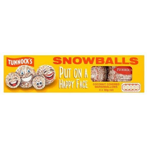 Tunnock's Marshmallow Coconut Snowballs 8pk