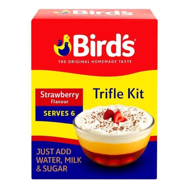 Bird's Trifle Mix Strawberry 141g