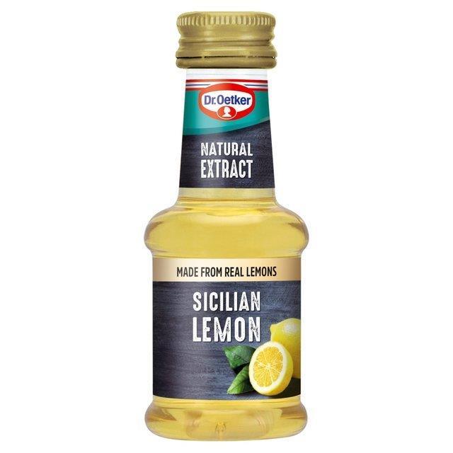 Dr. Oetker Natural Sicillian Lemon Extract 35g