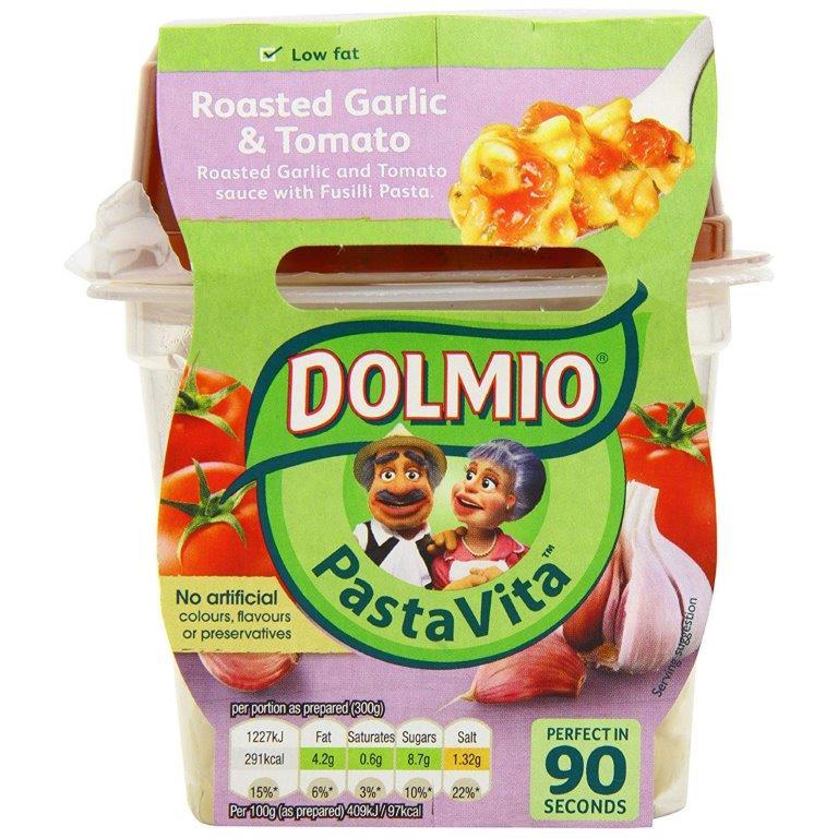 Dolmio Pasta Vita Roasted Garlic & Tomato 300g