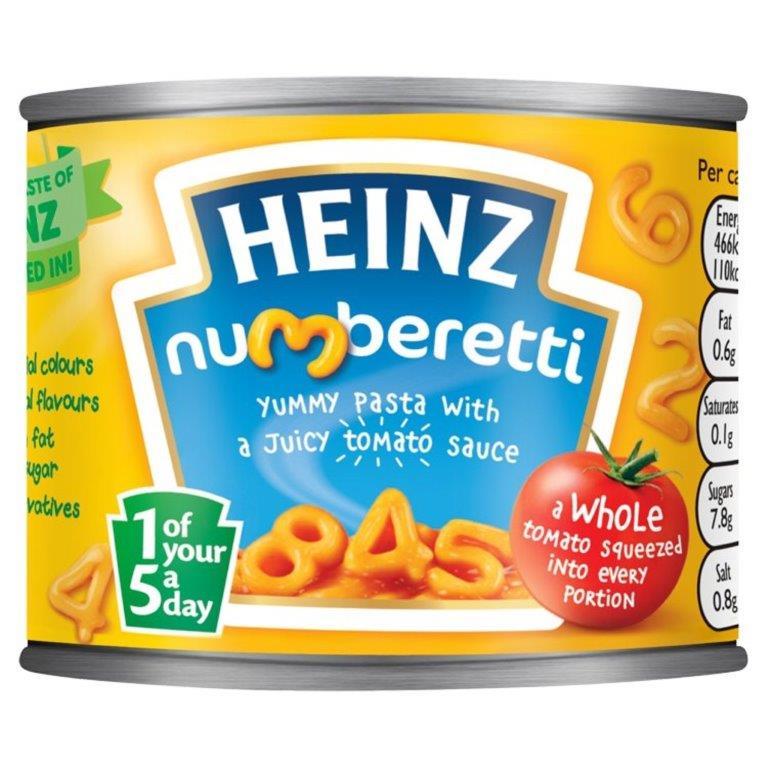 Heinz Pasta Shapes Alphabetti 200g