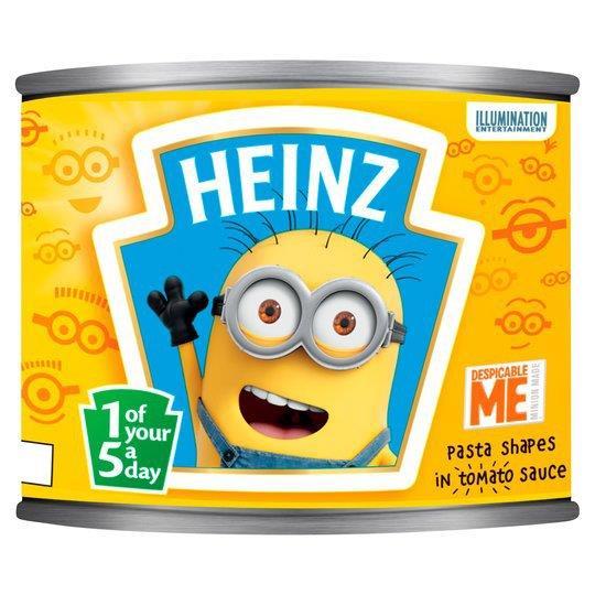 Heinz Pasta Shapes Minions 205g