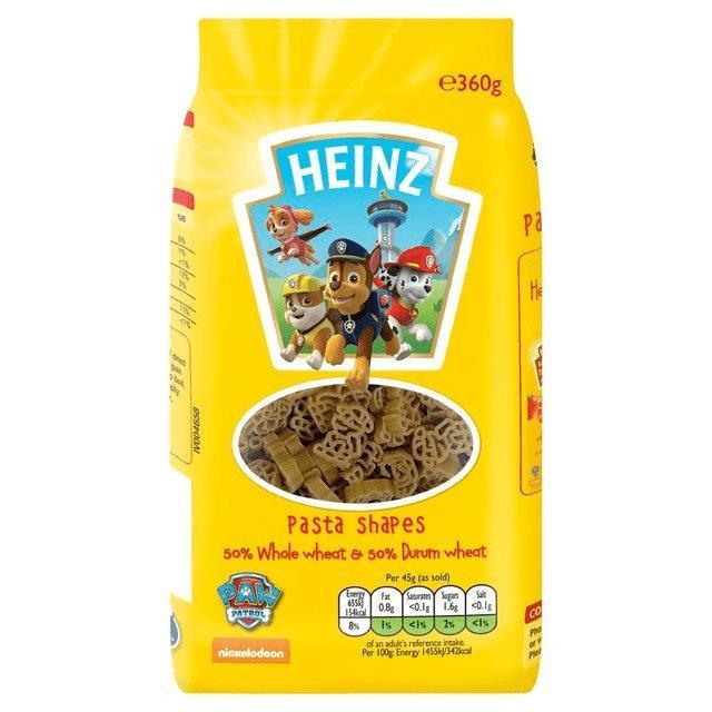 Heinz Pasta Shapes Paw Patrol 360g