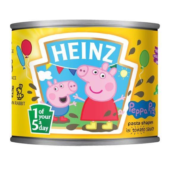 Heinz Pasta Shapes Peppa Pig 205g