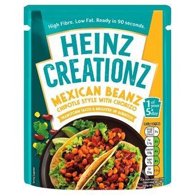 Heinz Creationz Mexican Baked Beans 250g