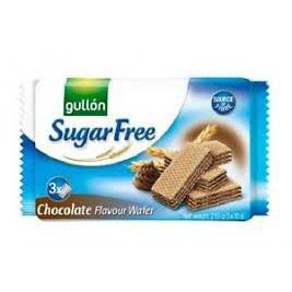 Gullon Sugar Free Chocolate Wafers 210g