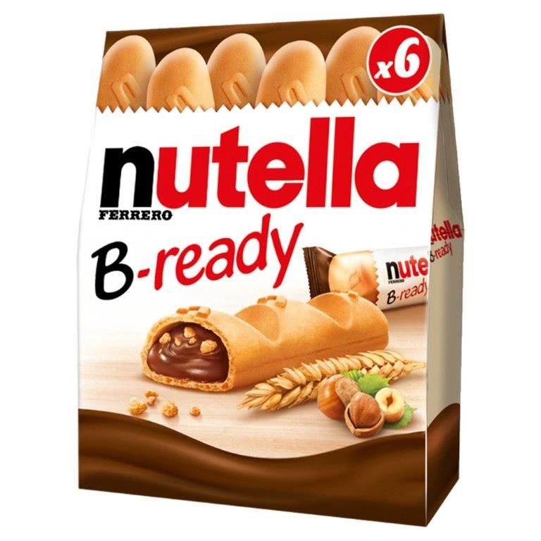 Nutella B-Ready 6pk T6 (6 x 22g)