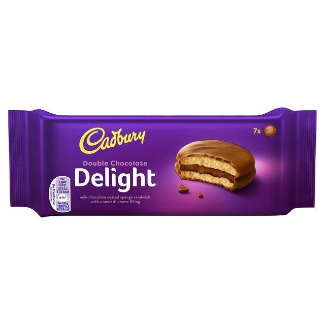Cadbury Delight Double Chocolate 175g
