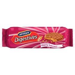 McVitie's Milk Chocolate Digestives Cherry Bakewell 250g