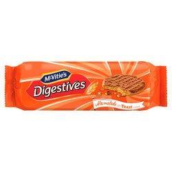 McVitie's Milk Chocolate Digestives Marmalade On Toast 250g