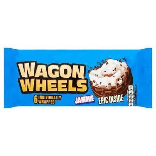 Burton's Wagon Wheels Jammie 6pk (6 x 38g)