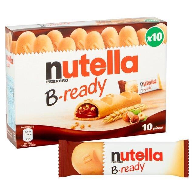 Nutella B-Ready 10pk T10 (10 x 22g)