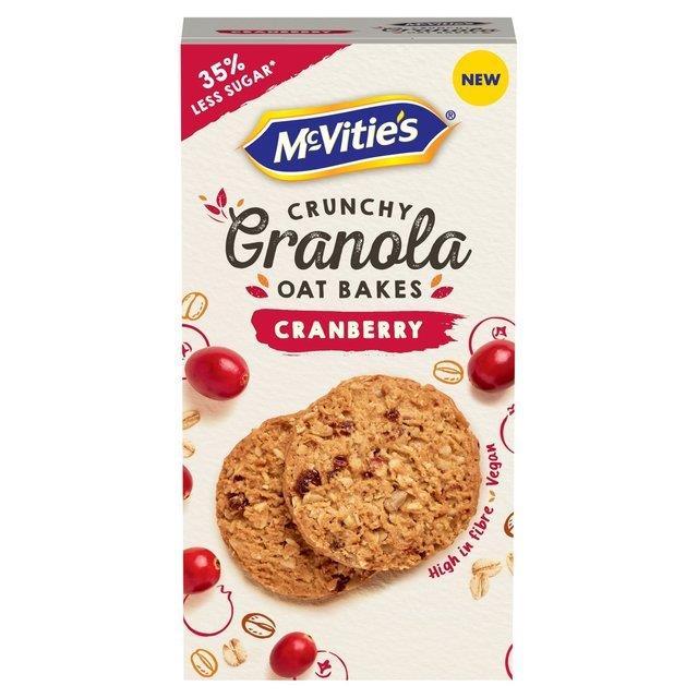 McVitie's Granola Oat Bakes Cranberry 140g