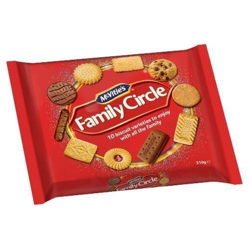 McVitie's Family Circle 310g