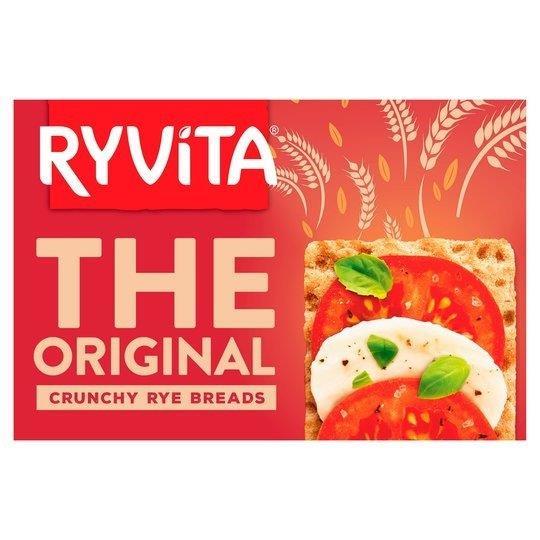 Ryvita Crunchy Rye Bread Original 250g