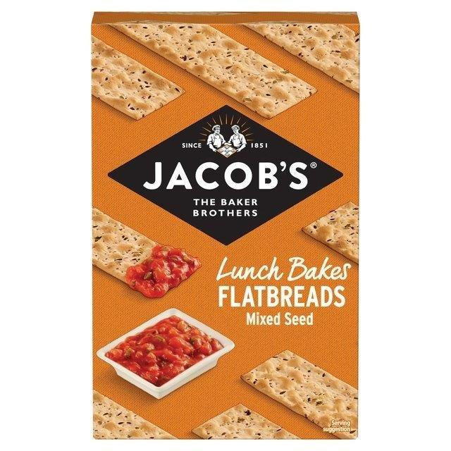Jacobs Flatbreads Mixed Seed 150g