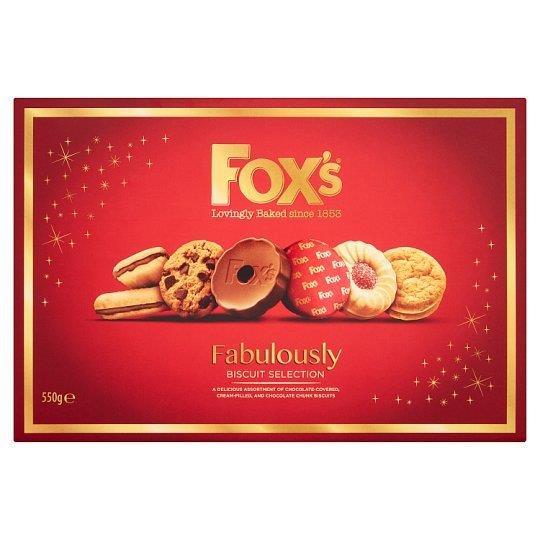 Fox's Fabulously Selection Carton 550g