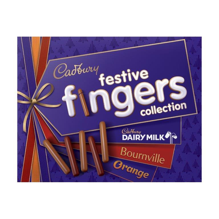 Cadbury Fingers Festive Selection 342g