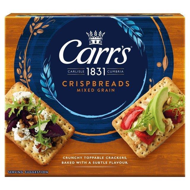 Carrs Crispbread Mixed Grain 5pk (5 x 38g)