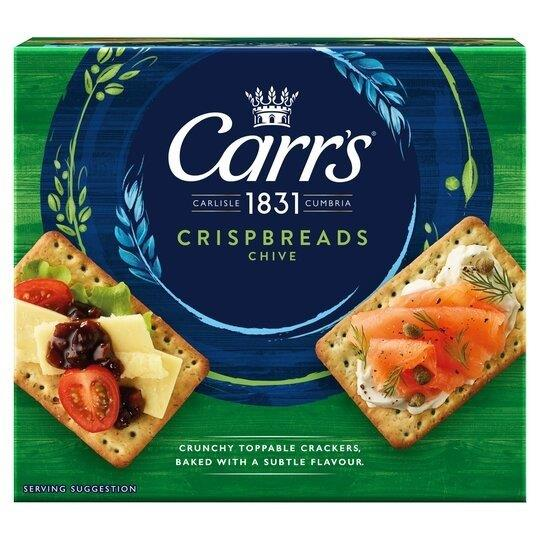 Carrs Crispbread Sour Cream & Chive 5pk (5 x 38g)