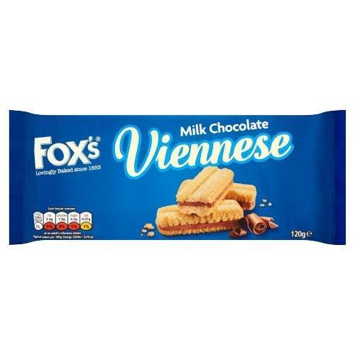 Fox's Viennese Milk Chocolate 120g