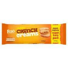 Fox's Twin Golden Crunch Creams 460g