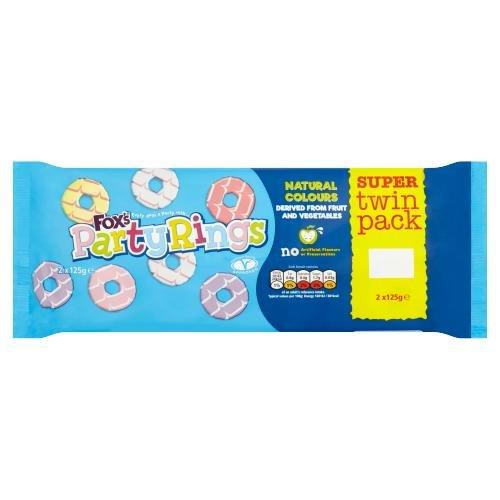 Fox's Party Rings Twin 250g