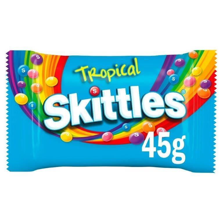 Skittles Std Tropical 45g