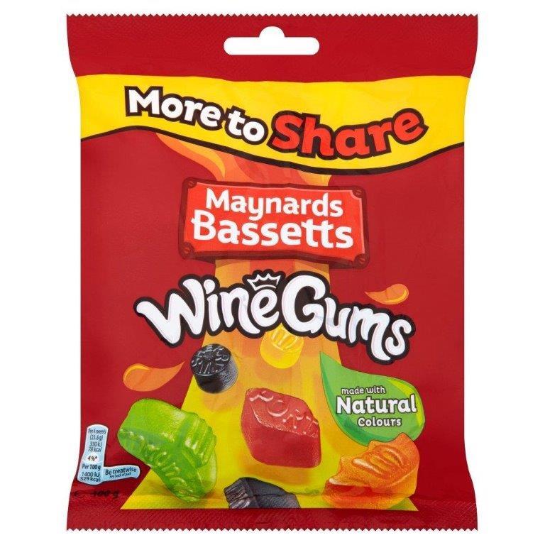 Maynards Wine Gums Bag 400g
