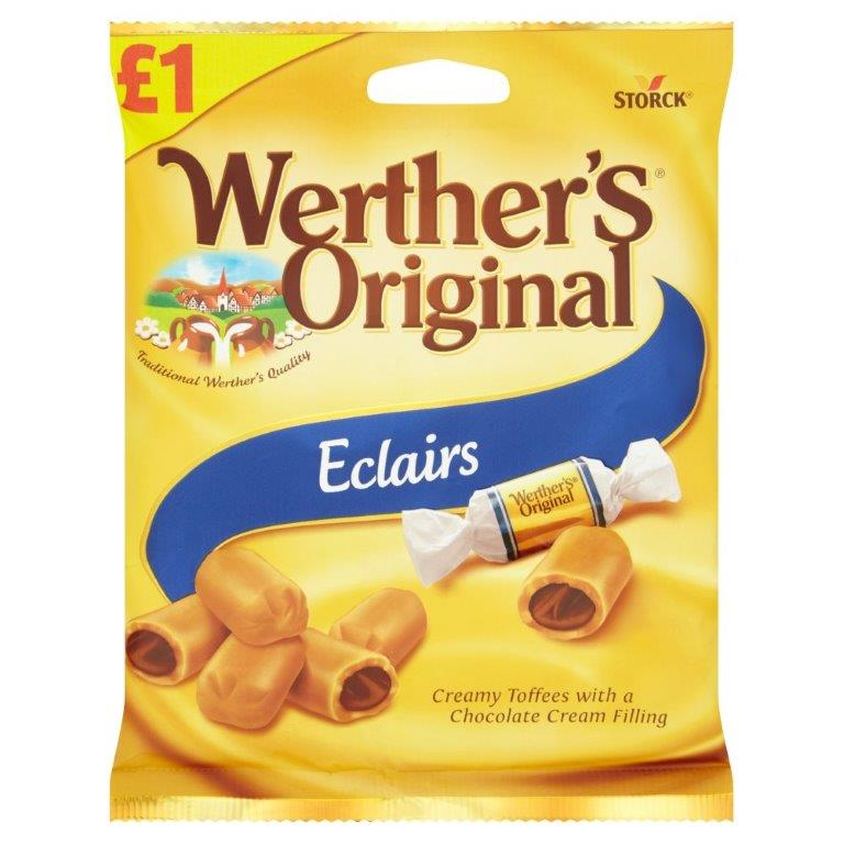 Werther's Original Eclairs 100g PM £1