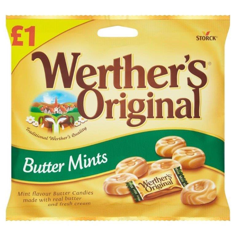 Werther's Original Butter Mints 110g PM £1